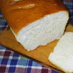 Crusty White Bread. Very easy to make in no time! I've been making this once a week for two years now and still love it.