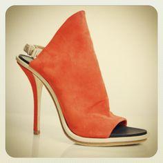 RR Price 390.00!  #Balenciaga 725.00 orange suede open toe glove sandals sz 8/7.5 #shoecandy #shoeporn #fashionista #fashion #madeinitaly #instashop #instafashion #instachic #cashinyourcloset #pricedtosell #tribeca #consignment #consignmentshop #nyc #statenisland - @resaleriches- #webstagram