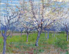 Vincent van Gogh - The Pink Orchard, March 1888, Van Gogh Museum, Amsterdam.