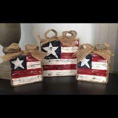 Faith Family Freedom Patriotic Decor - Americana Decor- Fourth of July Decor - of July Decor - 4th July Crafts, Fourth Of July Decor, 4th Of July Decorations, July 4th, Birthday Decorations, Americana Decorations, Fourth Of July Crafts For Kids, 2x4 Crafts, Wood Block Crafts