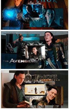 Evolution of Loki throughout the films.