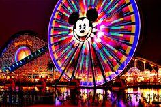 Disneyland long exposure. martinayach flickr