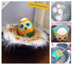 Create your own easter egg sleeve! www.customazer.com