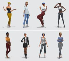 Netz-à-porter – outfits ready to wear for your sims (no CC required) - Page 16 — The Sims Forums Sims 4 Cas, Sims 1, Mother Daughter Dates, Sims 4 House Design, Sims House Plans, Sims Building, Sims 4 Characters, Sims 4 Cc Packs, Sims Four