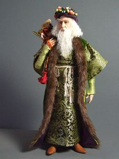 Santa Art Doll...I need to sculpt better!
