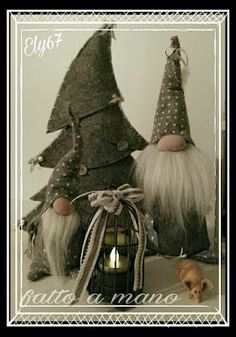 Show Your Spirit Gnomes sewing pattern by Indygo Junction Christmas Crafts To Make, Christmas Gnome, Primitive Christmas, Holiday Crafts, Holiday Fun, Christmas Ornaments, Scandinavian Christmas Decorations, Scandinavian Gnomes, Projects