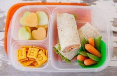 Simple and Healthy School Lunch Ideas Healthy lunch box ideas that your kids are sure to love! Lunch Snacks, Clean Eating Snacks, Kid Lunches, Kid Snacks, Veggie Wraps, Healthy School Lunches, Healthy Snacks, Healthy Recipe Videos, Healthy Recipes