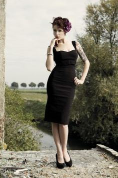 Jessica pencil dress - topvintage.nl