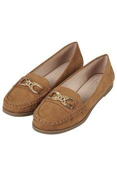 LATTE Loafer Shoes-Topshop