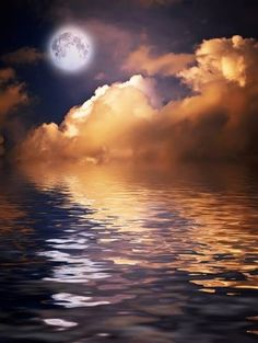 Find Mysterious Moon Nightly Clouds Over Water stock images in HD and millions of other royalty-free stock photos, illustrations and vectors in the Shutterstock collection. Thousands of new, high-quality pictures added every day. Moon Photos, Moon Pictures, Moon Over Water, Moon Dance, Shoot The Moon, Beautiful Moon, Beautiful Scenery, Day For Night, Night Time