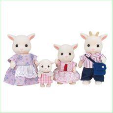 Sylvanian Families Goat Family Green Ant Toys http://www.greenanttoys.com.au/shop-online/sylvanian-families/sylvanian-families-animal-families/sylvanian-families-goat-family/