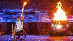 8. September: Paralympisches Feuer
