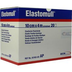 ELASTOMULL 10 cmx4 m 2102 elastisch Fixierb:   Packungsinhalt: 20 St Binden PZN: 05529366 Hersteller: Bios Medical Services GmbH Preis:…