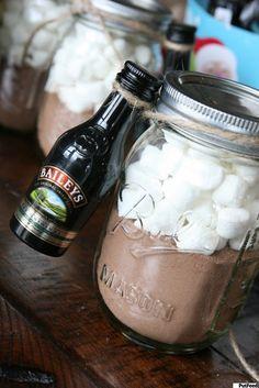 Kit para fazer chocolate quente