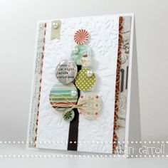 Another BasicGrey Tree . . . . love how vintage this group is. such a cute card shari carroll!