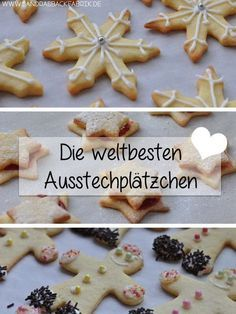 Years ago I found a cookie recipe while browsing - no, it& .- Vor Jahren habe ich beim stöbern ein Plätzchen Rezept gefunden – nein, es ist … Years ago I rummaged through a cookie recipe … - Cookie Salad, Christmas Sweets, Christmas Baking, Christmas Cookies, Cookies Et Biscuits, Cake Cookies, Worlds Best Cookies, Cake & Co, Mary Berry
