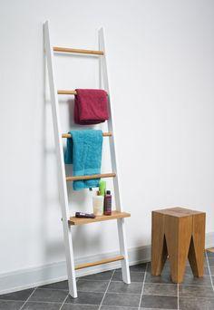 Kleiderleiter volllackiert / Eiche - 8 schöne Farben