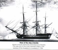 image of the ship L'Amitie