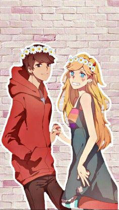Star vs the forces of evil star and marco starco couple love cartoon