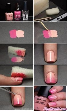 amazing way on how to paint your nails!!!