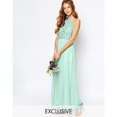 Maya High Neck Maxi Tulle Dress with Tonal Delicate Sequins ($91) ❤ liked on Polyvore featuring dresses, hint of mint, tall maxi dresses, high neck cocktail dress, mint dress, sequin cocktail dresses and maxi cocktail dresses