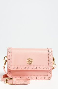 Tory Burch 'Robinson Spectator - Mini' Saffiano Leather Crossbody Bag available at #Nordstrom