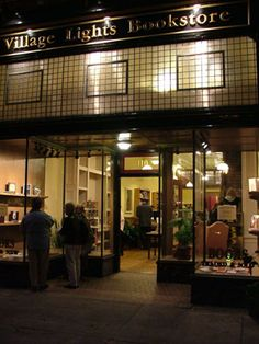 Village Lights Bookstore - New, used, out-of-print books - Madison, Indiana is lucky to have such a great store.  Support independent bookstores!