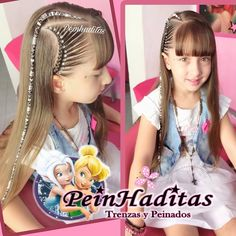 La imagen puede contener: 3 personas, texto Aloe Vera Skin Care, Baby Girl Hair, Little Girl Hairstyles, Hair Dos, Little Girls, Manicure, Braids, Dreadlocks, Hair Styles