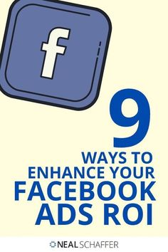 In a world where brands are striving to increase their ROI, make the most of these 9 tips to enhance your Facebook Ads ROI. #OnlineAdvertising Pinterest Advertising, Online Advertising, Pinterest Marketing, Facebook Marketing, Online Marketing, Social Media Marketing, Customer Persona, Social Media Trends, Social Business