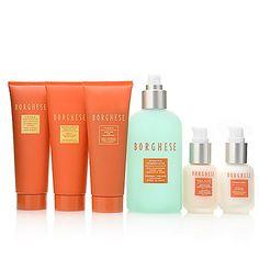 309-527 - Borghese Six-Piece Skincare Survival Kit w/ Hat Box