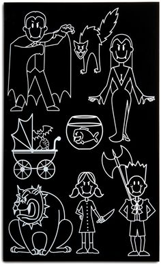 Home & Office : Vampire Family Car Decals Family Car Stickers, Car Window Stickers, Bumper Stickers, Geek Tech, Stick Figures, Vinyl Art, Geek Things, Funny Things, Random Things