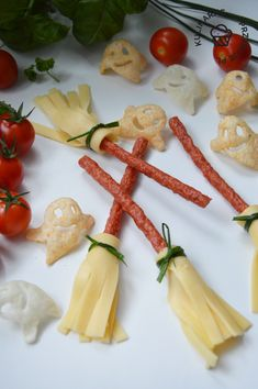 Finger Foods, Celery, Kids Meals, Halloween Party, Grilling, Menu, Cheese, Vegetables, Ethnic Recipes