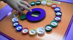 ROLETA MAGNÉTICA RECICLADA http://professorphardal.blogspot.com.br/2012/07/bingo-das-silabas-reciclado.html