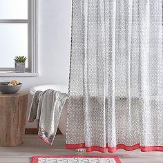 DKNY Gridlock 72-Inch x 72-Inch Shower Curtain   Bed, Bath & Beyond