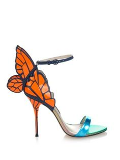 Chiara butterfly leather sandals | Sophia Webster | MATCHESFASHION.COM