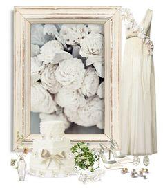 """Serene Summer Wedding"" by ahapplet ❤ liked on Polyvore featuring Menbur, Victoria's Secret, Fernando Jorge, Matthew Williamson, Summer and ahapplet"