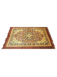 This beautiful carpet will add the eager touch of royalty and elegance to my living room. :)