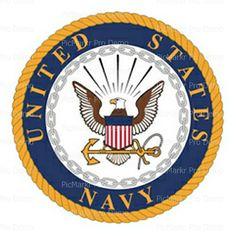 US Navy Military Logo ~ Sheet Cake Topper ~ Edible ~ D20484 #DecoPac