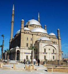 Mohammed Ali Alabaster Mosque, Cairo, Egypt