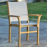 Found it at Wayfair - St.Tropez Stacking Dining Arm Chair