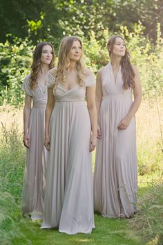 69629a341c Blush Bridesmaids Dresses   Flower Girl Dresses To Match ~ Colour Feature.  Multiway ...
