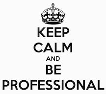 Four simple tips for job seekers. #interview tips #beingprofessional