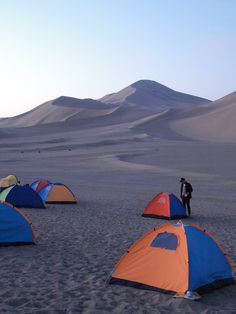 WildChina camping in the Gobi Desert