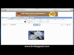 How to use FotoFlexer to easily edit your images before you post them online  http://www.youtube.com/brideappeal