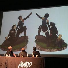 Mondo is releasing a killer new Korrasami statue