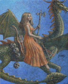 dragons | Jim Yarbrough's Artblog