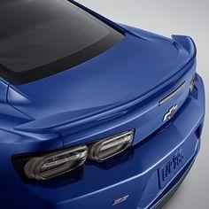 High Wing Spoiler Kit In Riverside Blue Metallic Chevy