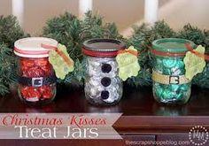 kisses  Christmas Jars.