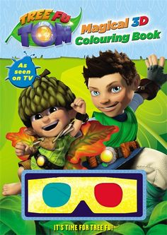 This colourful Tree Fu Tom activity book has over 50 stickers plus plenty of puzzles and games.