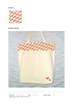 Eco bag : Geometric Pattern